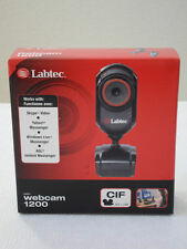 BRAND NEW SEALED LABTEC WEBCAM 1200 SKYPE MSN YAHOO MESSENGER AOL VIDEO CAMERA