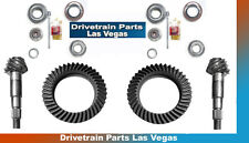Quality Dana 30 + 44 Wrangler JK Ring and Pinion Install Gear Package 4.56 Ratio