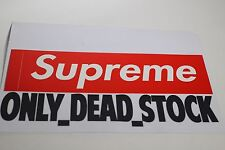 SUPREME STICKER LOGOBOX RED LOGO BOX UNDERCOVER  PCL ANTI HERO CDG 3M STICKERS
