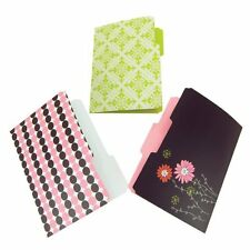 Wilson Jones Recycled Bliss Decorated File Folders, Pack of 6 (W31505)