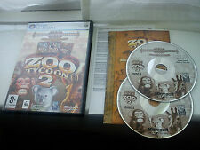ZOO TYCOON 2 Game for Windows PC CD-ROM ZOOKEEPER COLLECTION Bundle Complete
