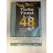 Alcotec 48 Turbo Yeast. Bargain pack of 13 makes good clean alcohol.