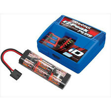 Traxxas EZ-Peak Plus, ID 4Amp Charger with 2926X 8.4V 3000mAh Hump NiMH - O-TRX2