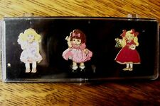 TRACI/ADORA BELLE/HELENA by MARIE OSMOND DOLL PINS MINT FACTORY SEALED