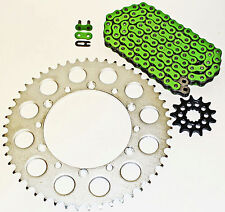 KAWASAKI 2008-2014 KLX450 R / 2006-14 KX450 F GREEN CHAIN & SPROCKET 13/51 116L