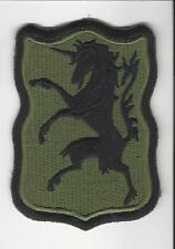 US Army 6th Cavalry Regiment OD Green Foreign made patch c/e