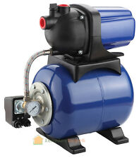 "1.6HP 1"" Shallow Jet Water Well Pump w/ Tank Pressure Pressurized 1000PGH 110V"