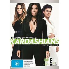 KEEPING UP WITH THE KARDASHIANS-Season 10, Part 2-Region 4-New AND Sealed