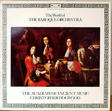 THE WORLD OF THE BAROQUE ORCHESTRA-NM1979LP UK IMP HOGWOOD/ACADEMY ANCIENT MUSIC