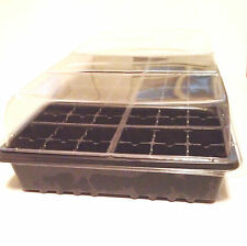 1  SEED STARTING KIT, GROWING KIT - 3pc KIT WITH FLAT, CELL TRAY & HUMIDITY DOME