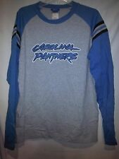 Carolina Panthers Reebok XXLarge Gray Long Sleeve T-Shirt NWT NFL Newton Stewart