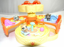 LITTLEST PET SHOP TEENIEST TINIEST MINI POP OPEN CASE YELLOW DOG PARK   POCKET1