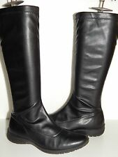 PRIMIGI jenna black leather knee high boots girls youth size 37 us 4