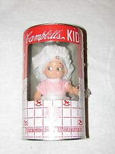 Campbell's Soup Kid Junior Series Bank in Tin Can Horsman Series NEW pink 1910