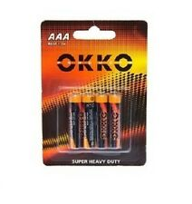 4pack of AAA batteries, single use, non rechargeable. FREE SHIPPING 1P START 858