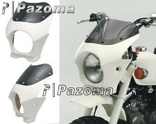 "Motorcycle 5"" Headlight fairing front light cowl HONDA Monkey APE 50 100 White"