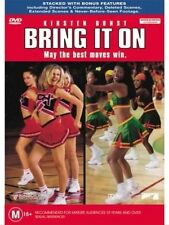 BRING IT ON - KIRSTEN DUNST | GENUINE Region 4 DVD | RARE OOP / Cheerleading !!