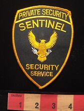 Collector Patch ~ SENTENEL Private Security Service Officer / Armed Guard C64K