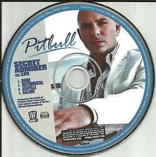 PITBULL w/ LLOYD Secret Admirer w/ ACAPELLA & INSTRUMENTAL  PROMO DJ CD single