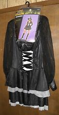 SPELLBOUND WITCH HALLOWEEN COSTUME NWT SIZE MEDIUM 8-14 ADULT TOTALLY GHOUL