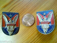 Two Vintage WWII AWARD of MERIT Ships for Victory Maritime Commission Pins