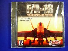 New Xicat's F/A-18 PRECISION STRIKE FIGHTER Flight Simulator Game CD FREE SHIP!