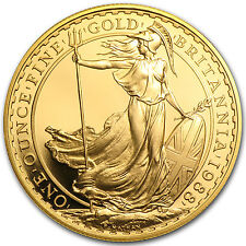 1 oz Gold Britannia Coin - Random Year - Proof or Uncirculated - SKU #28121