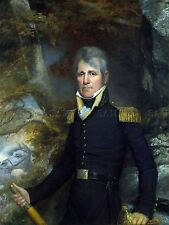 PAINTING PORTRAIT JARVIS US ARMY GENERAL ANDREW JACKSON REPLICA PRINT PAM2129