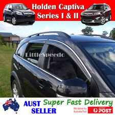 Premium Weather Shields  Weathershields Window Visor set 4 Holden Captiva 06-15