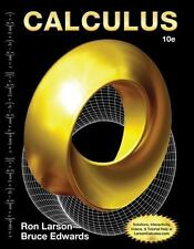 Calculus by Ron Larson and Bruce Edwards (2013, Hardcover, 10th Edition)
