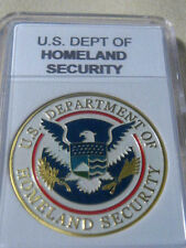 U S DEPT OF HOMELAND SECURITY Commemorative Coin