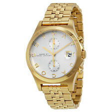 BRAND NEW MARC BY MARC JACOBS MBM3379 FERUS GOLD TONE CHRONOGRAPH WOMEN'S WATCH