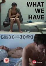 WHAT WE HAVE di Maxime Desmons DVD FILM (Gay Movie) in Francese NEW .cp