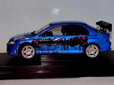 MITSUBISHI  LANCER  EVOLUTION VII  2002 THE FAST AND THE FURIOUS RC2 53607C 1:18