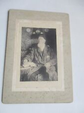 SOUTHSEA HAMPSHIRE  VINTAGE PHOTOGRAPH SEATED CHARISMATIC MAN