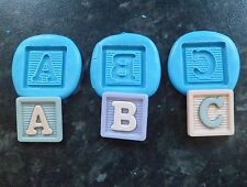 BABY ABC CHRISTENING SHOWER  MOULD MOLD SUGARCRAFT DECORATING CAKE FIMO CLAY
