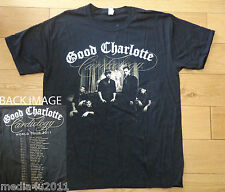 GOOD CHARLOTTE CARDIOLOGY WORLD CONCERT TOUR 2011 T SHIRT LARGE NEW