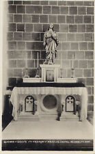 Autel du Christ-Roi Église St François d'Assise QUEBEC QC Canada Hayward RPPC