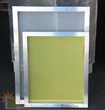 "6-Pack 20""x24"" Aluminum Frame Printing Screens 160/230/305 Mesh Count Mixed Lot"