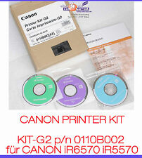 CANON PRINTER KIT-G2 0110B002 CANON iR6570 iR5570 DRUCKERKARTE G2 NETWORK PDL #K
