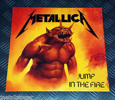 """Metallica 'Jump In The Fire' German '90 Issue 3-track 12"""" Maxi Single Rare VG+"""