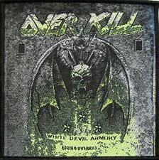 "OVERKILL AUFNÄHER / PATCH # 8 ""WHITE DEVIL ARMORY"""