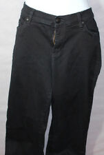 Girls Juniors ROCK & REPUBLIC KASANDRA Black BOOTCUT JEANS Size 16M Flap Pocket