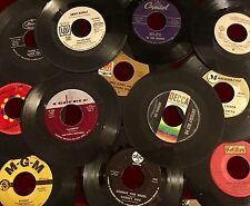 Unsorted Lot of 25 Vinyl 45 RPM Records Arts & Crafts Crafting Decoration Etsy