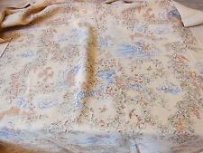 Toile de Jouy fabric sample, 90 x 120cm