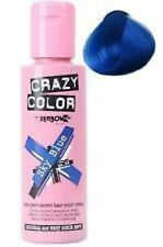 Crazy Color by Renbow Semi Permanent Hair Dye Cream in No.59 SKY BLUE 100ml