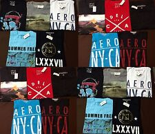 NWT Aeropostale Mens T Shirts Lot of 10 Medium Med M  Worldwide ship Resale