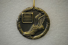 "2"" Track Medal Medallion with ribbon - free engraving"