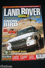 Land Rover Monthly March 2003, Camping Trailer/Wood Chip S2/Amphibious