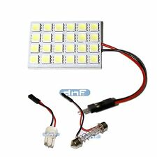 PANEL T10 Festoon BOARD LED LAMP 43mm x 30mm Dome White 5050SMD 24LED Light